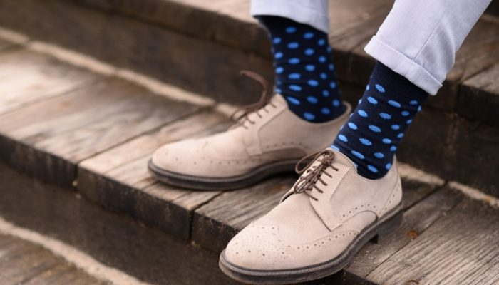 Types de chaussettes pour homme