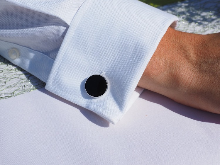 bouton de manchette chemise homme